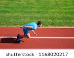many runners like challenge of... | Shutterstock . vector #1168020217
