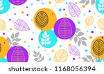 bright seamless pattern of... | Shutterstock .eps vector #1168056394