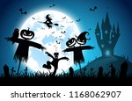 illustration blue background... | Shutterstock .eps vector #1168062907