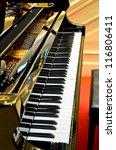 piano keys | Shutterstock . vector #116806411