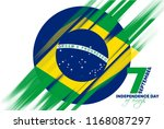 vector illustration. brazilian... | Shutterstock .eps vector #1168087297