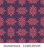vector floral abstract seamless ... | Shutterstock .eps vector #1168130104