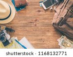 looking image of travelling... | Shutterstock . vector #1168132771