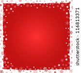 new year  christmas  background ... | Shutterstock .eps vector #116813371