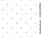 winter seamless pattern with... | Shutterstock .eps vector #1168144984