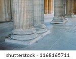 antique hall column element.... | Shutterstock . vector #1168165711