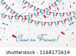 france flags garland white... | Shutterstock .eps vector #1168172614