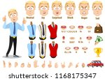 young businessman character... | Shutterstock .eps vector #1168175347