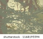 ink handmade painting. abstract ... | Shutterstock . vector #1168195594