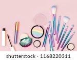 fashion holographic colored... | Shutterstock . vector #1168220311
