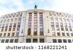 prague  czech republic   august ... | Shutterstock . vector #1168221241