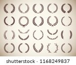 collection of twenty two... | Shutterstock .eps vector #1168249837
