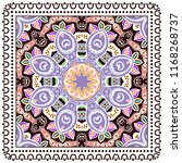 decorative colorful ornament on ... | Shutterstock .eps vector #1168268737