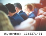 meeting of govern in the... | Shutterstock . vector #1168271491