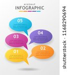 infographic template for... | Shutterstock .eps vector #1168290694