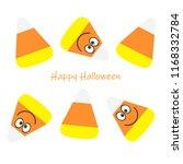 candy corn   halloween candy  ... | Shutterstock . vector #1168332784