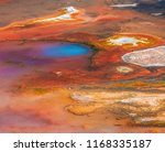 geysers  colorful hot springs ...   Shutterstock . vector #1168335187