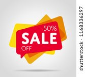 special offer sale red tag... | Shutterstock . vector #1168336297