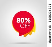special offer sale red tag... | Shutterstock . vector #1168336321