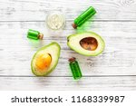 organic cosmetics with natural... | Shutterstock . vector #1168339987