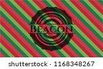 beacon christmas badge. | Shutterstock .eps vector #1168348267