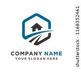 faster logo template vector | Shutterstock .eps vector #1168352461