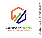 faster logo template vector | Shutterstock .eps vector #1168352467
