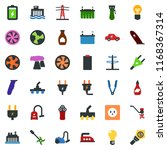 colored vector icon set   hair... | Shutterstock .eps vector #1168367314