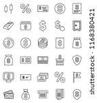 thin line vector icon set  ...   Shutterstock .eps vector #1168380421