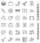 thin line vector icon set  ... | Shutterstock .eps vector #1168382821
