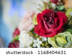 beautiful flower decorate... | Shutterstock . vector #1168404631