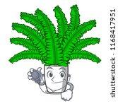 doctor fern frond frame... | Shutterstock .eps vector #1168417951
