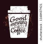 vector graphics start you day...   Shutterstock .eps vector #1168437421