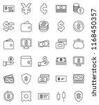 thin line vector icon set  ...   Shutterstock .eps vector #1168450357