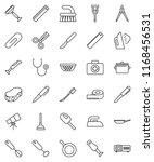 thin line vector icon set  ... | Shutterstock .eps vector #1168456531