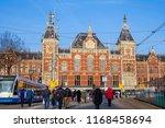 amsterdam  netherlands  02 27... | Shutterstock . vector #1168458694