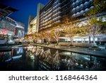 osaka  japan   november 2017  ... | Shutterstock . vector #1168464364