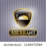 gold emblem with special food... | Shutterstock .eps vector #1168472584