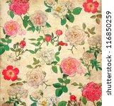 Antique Floral Vintage...