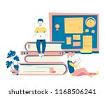 modern vector flat hipster...   Shutterstock .eps vector #1168506241