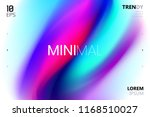 trendy minimalistic fluid... | Shutterstock .eps vector #1168510027