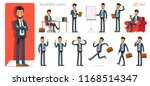 set version  1 of businessman... | Shutterstock .eps vector #1168514347