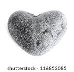 Heart Shaped Sea Stone  Pebble...
