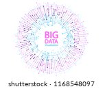big data visualization concept... | Shutterstock .eps vector #1168548097