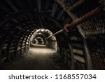 underground tunnel in... | Shutterstock . vector #1168557034