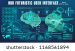 hud medical virtual graphic... | Shutterstock .eps vector #1168561894