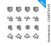web development technology... | Shutterstock .eps vector #1168576141