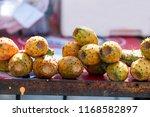 indian fig opuntia. opuntia...   Shutterstock . vector #1168582897