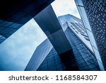 skyscrapers from a low angle... | Shutterstock . vector #1168584307