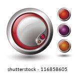 vector web buttons | Shutterstock .eps vector #116858605